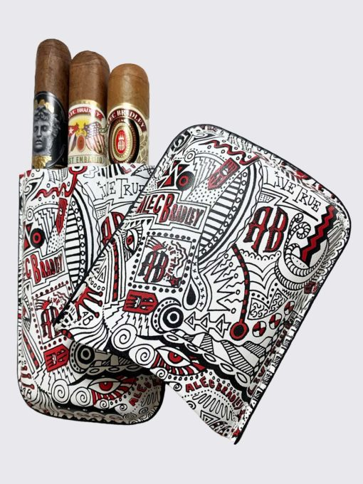 3 finger carrying case. cigars not included.